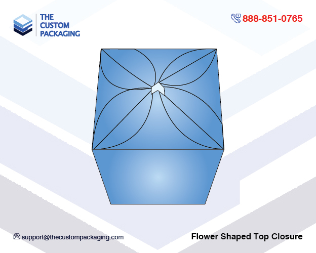 abc7e84bc320 Flower Shaped Top Closure | Wholesale Printed Boxes | The Custom ...