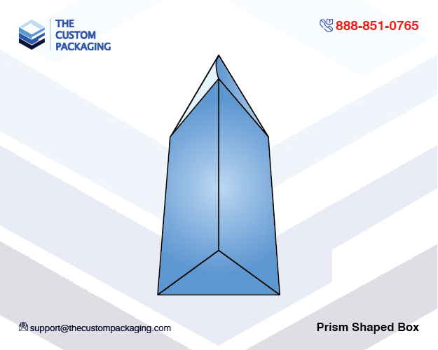 ce8ba338a488 Prism Shaped Box | Wholesale Printed Boxes | The Custom Packaging